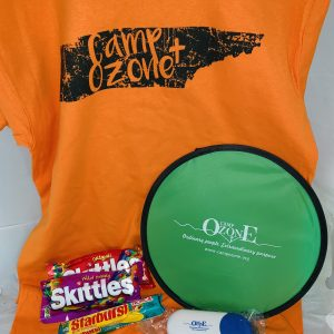 t shirt camp ozone souvenir package