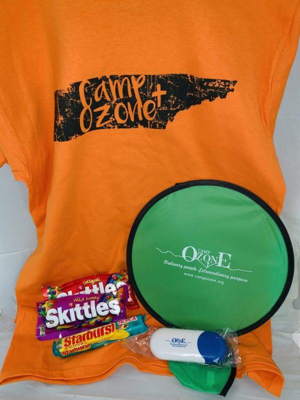 t shirt camp ozone souvenir package