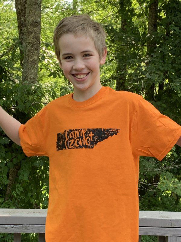 tn orange t shirt camp ozone